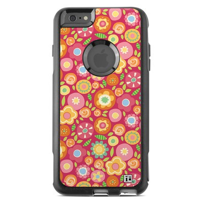 OtterBox Commuter iPhone 6 Plus Case Skin - Flowers Squished