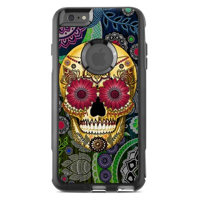 OtterBox Commuter iPhone 6 Plus Case Skin - Sugar Skull Paisley