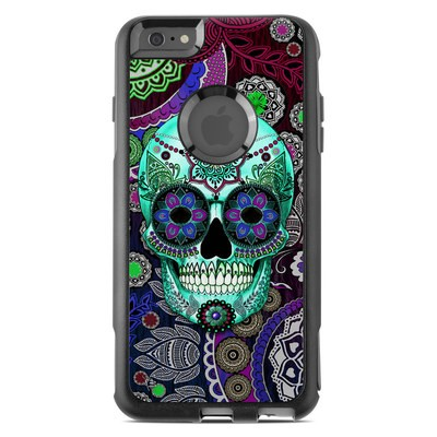 OtterBox Commuter iPhone 6 Plus Case Skin - Sugar Skull Sombrero