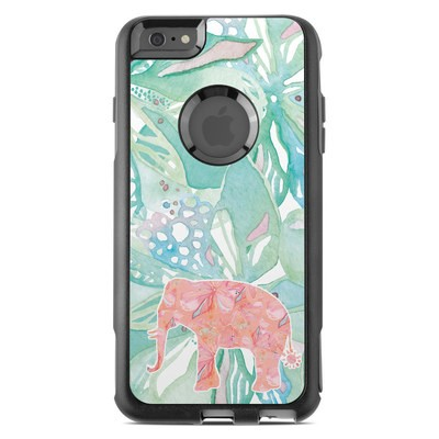 OtterBox Commuter iPhone 6 Plus Case Skin - Tropical Elephant