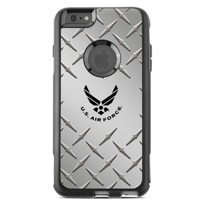 OtterBox Commuter iPhone 6 Plus Case Skin - USAF Diamond Plate