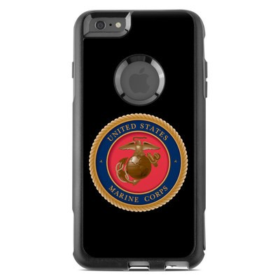 OtterBox Commuter iPhone 6 Plus Case Skin - USMC Black