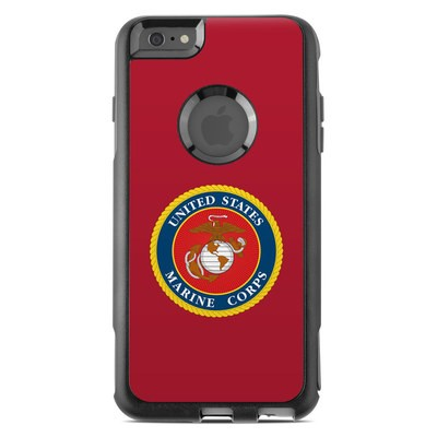 OtterBox Commuter iPhone 6 Plus Case Skin - USMC Red