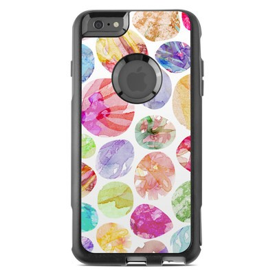 OtterBox Commuter iPhone 6 Plus Case Skin - Watercolor Dots