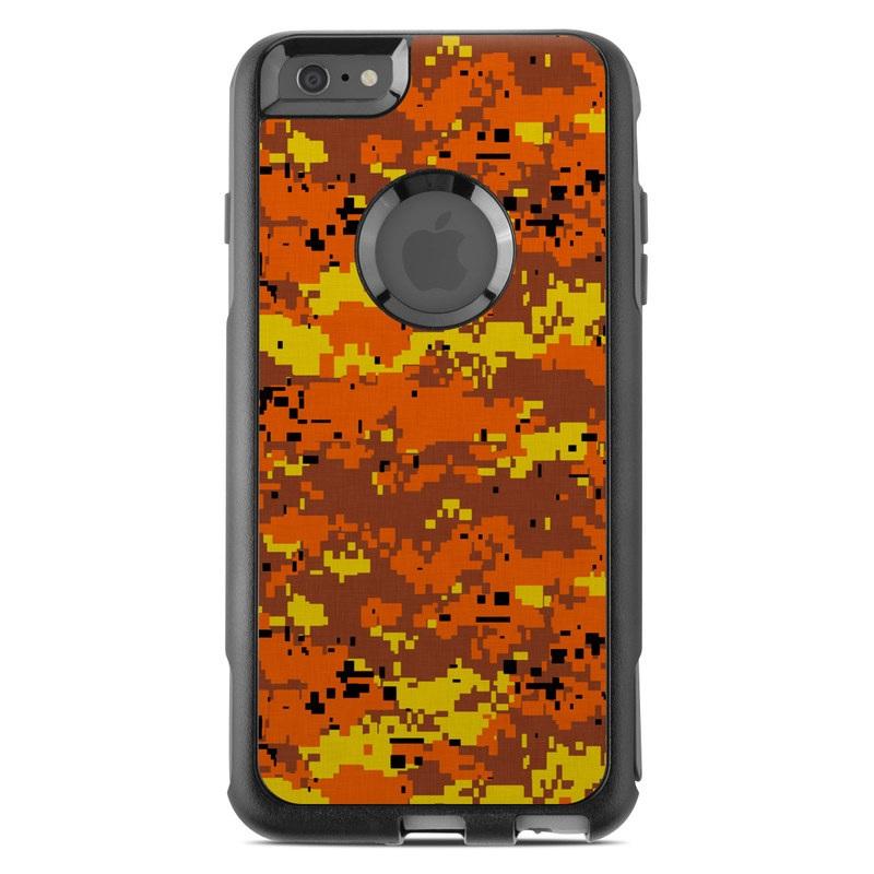 9683dd114917 OtterBox Commuter iPhone 6 Plus Case Skin - Digital Orange Camo by ...