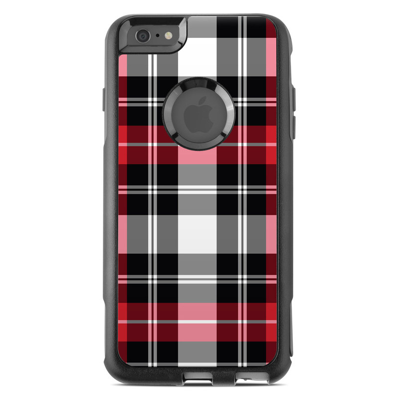 new york cee9a 1c50e OtterBox Commuter iPhone 6 Plus Case Skin - Red Plaid by DecalGirl  Collective