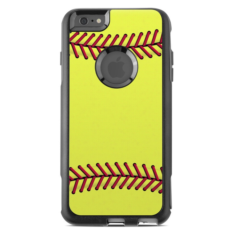 info for 45c3f c9ab3 OtterBox Commuter iPhone 6 Plus Case Skin - Softball