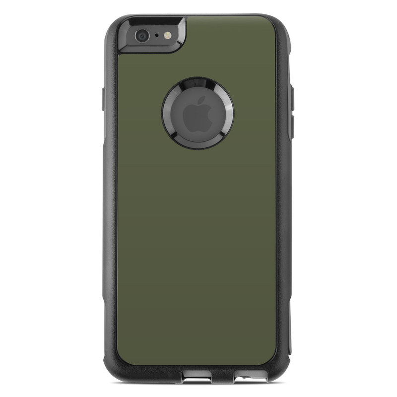 cheap for discount a1ec7 93c9d OtterBox Commuter iPhone 6 Plus Case Skin - Solid State Olive Drab