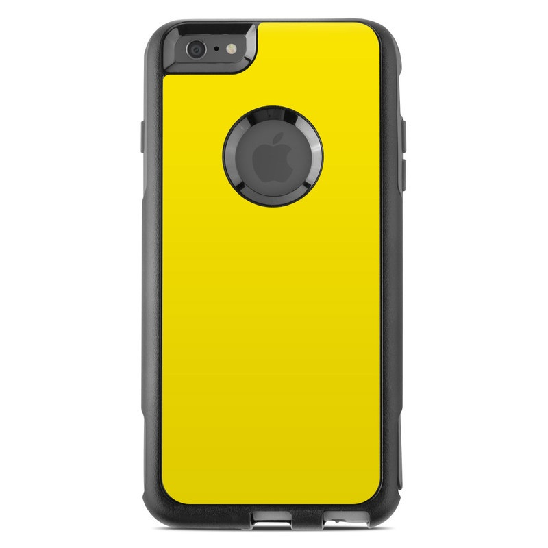 OtterBox Commuter iPhone 6 Plus Case Skin - Solid State Yellow by Solid Colors | DecalGirl