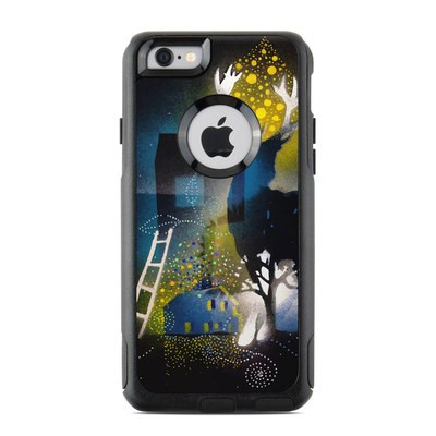 OtterBox Commuter iPhone 6 Case Skin - Aurora Borealis