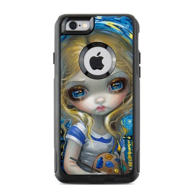 OtterBox Commuter iPhone 6 Case Skin - Alice in a Van Gogh
