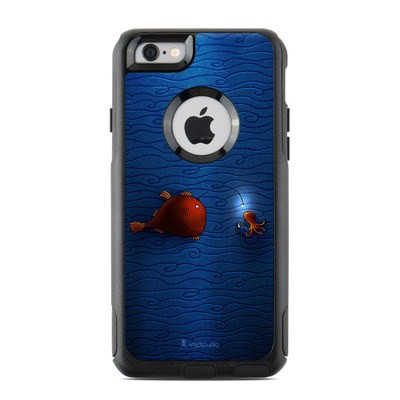 OtterBox Commuter iPhone 6 Case Skin - Angler Fish
