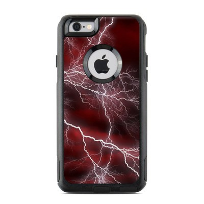OtterBox Commuter iPhone 6 Case Skin - Apocalypse Red