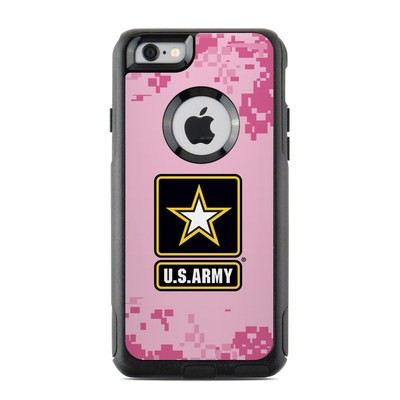 OtterBox Commuter iPhone 6 Case Skin - Army Pink
