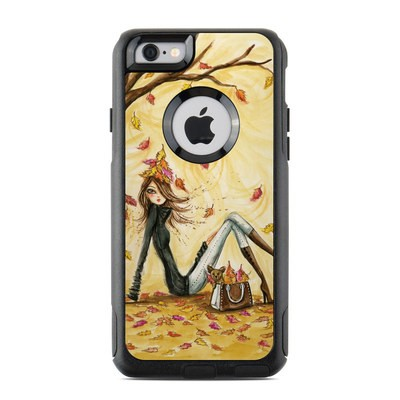OtterBox Commuter iPhone 6 Case Skin - Autumn Leaves