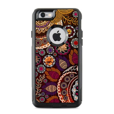 OtterBox Commuter iPhone 6 Case Skin - Autumn Mehndi