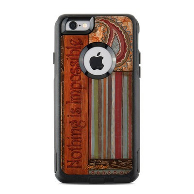 OtterBox Commuter iPhone 6 Case Skin - Be Inspired