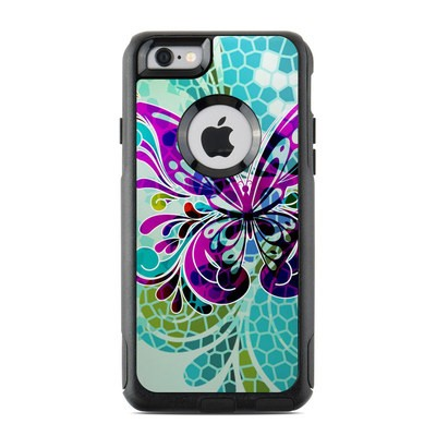 OtterBox Commuter iPhone 6 Case Skin - Butterfly Glass