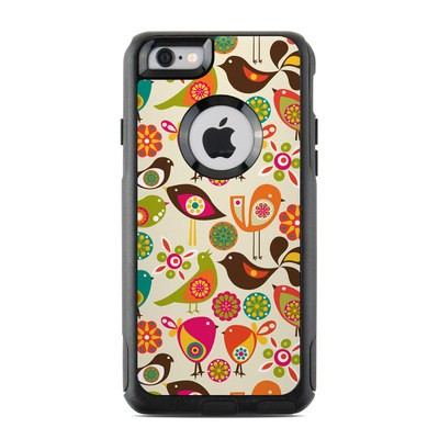 OtterBox Commuter iPhone 6 Case Skin - Bird Flowers