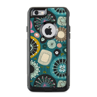 OtterBox Commuter iPhone 6 Case Skin - Blooms Teal