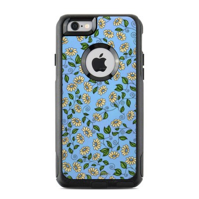 OtterBox Commuter iPhone 6 Case Skin - Blue Daisy