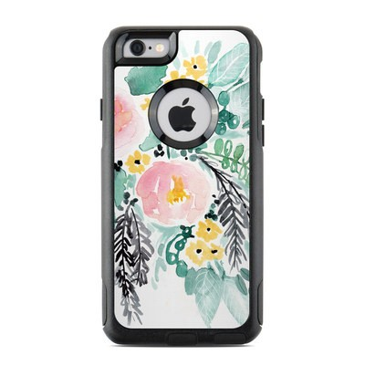 OtterBox Commuter iPhone 6 Case Skin - Blushed Flowers