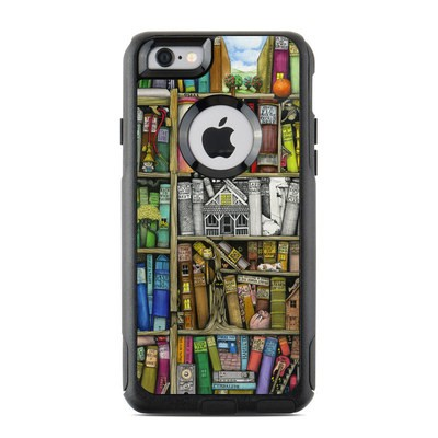 OtterBox Commuter iPhone 6 Case Skin - Bookshelf