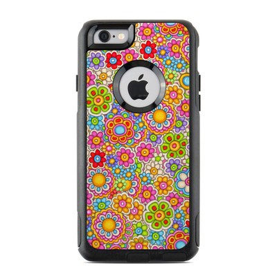OtterBox Commuter iPhone 6 Case Skin - Bright Ditzy