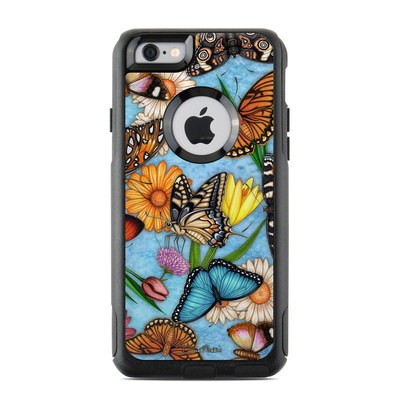 OtterBox Commuter iPhone 6 Case Skin - Butterfly Land