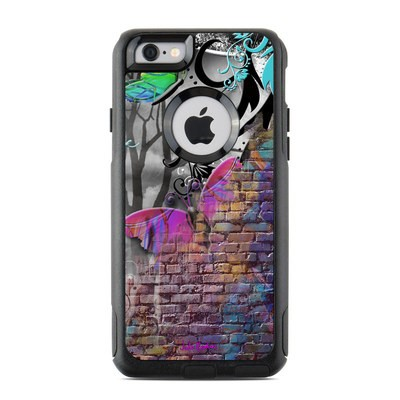 OtterBox Commuter iPhone 6 Case Skin - Butterfly Wall