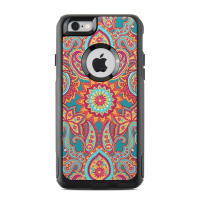 OtterBox Commuter iPhone 6 Case Skin - Carnival Paisley