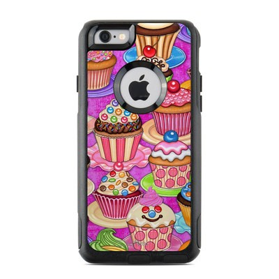 OtterBox Commuter iPhone 6 Case Skin - Cupcake