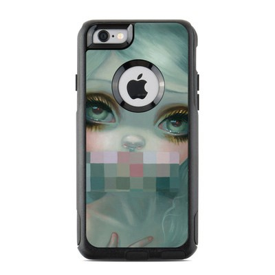 OtterBox Commuter iPhone 6 Case Skin - Censored Smile