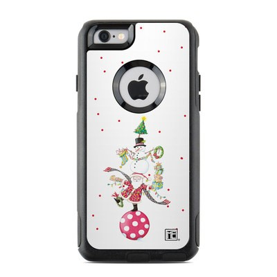 OtterBox Commuter iPhone 6 Case Skin - Christmas Circus
