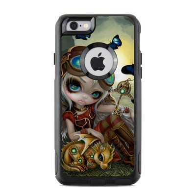 OtterBox Commuter iPhone 6 Case Skin - Clockwork Dragonling