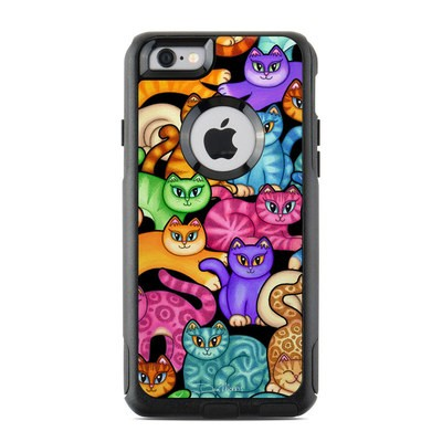 OtterBox Commuter iPhone 6 Case Skin - Colorful Kittens