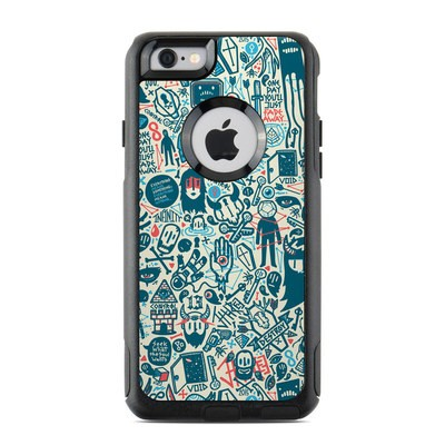 OtterBox Commuter iPhone 6 Case Skin - Committee