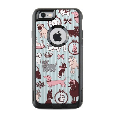 OtterBox Commuter iPhone 6 Case Skin - Doggy Boudoir