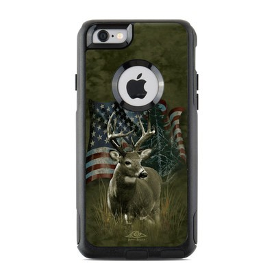 OtterBox Commuter iPhone 6 Case Skin - Deer Flag