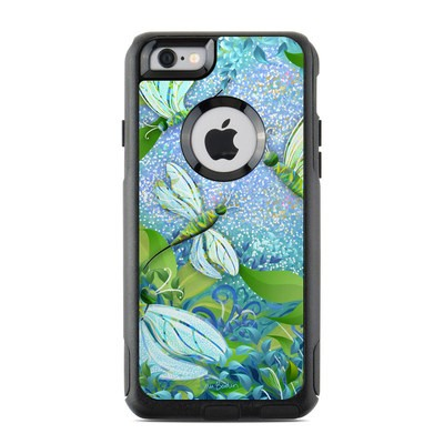 OtterBox Commuter iPhone 6 Case Skin - Dragonfly Fantasy