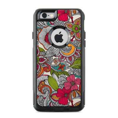 OtterBox Commuter iPhone 6 Case Skin - Doodles Color