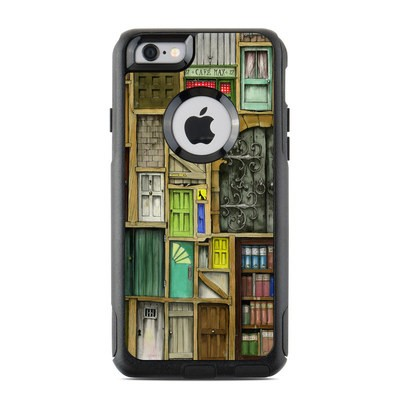 OtterBox Commuter iPhone 6 Case Skin - Doors Closed