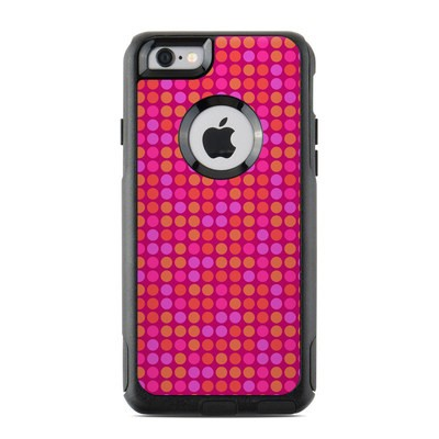 OtterBox Commuter iPhone 6 Case Skin - Dots Pink