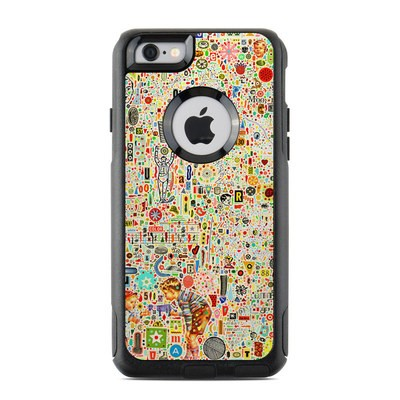OtterBox Commuter iPhone 6 Case Skin - Effloresce