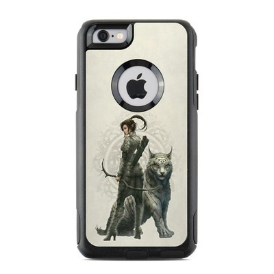 OtterBox Commuter iPhone 6 Case Skin - Half Elf Girl