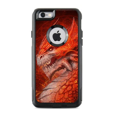 OtterBox Commuter iPhone 6 Case Skin - Flame Dragon