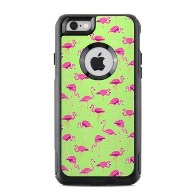 OtterBox Commuter iPhone 6 Case Skin - Flamingo Day