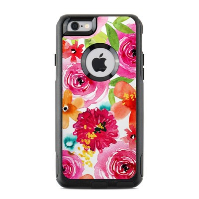 OtterBox Commuter iPhone 6 Case Skin - Floral Pop