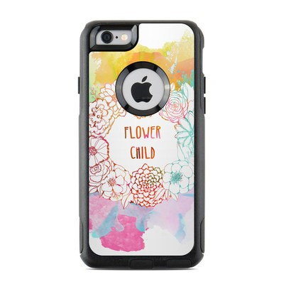 OtterBox Commuter iPhone 6 Case Skin - Flower Child