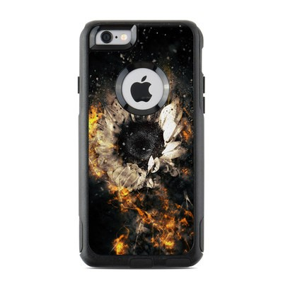 OtterBox Commuter iPhone 6 Case Skin - Flower Fury